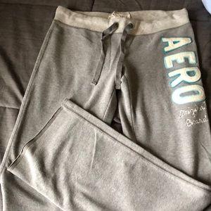Aeropostale gray sweats size M
